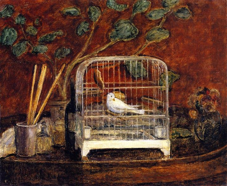 Bird in a Cage, 1937 - Frederick Carl Frieseke