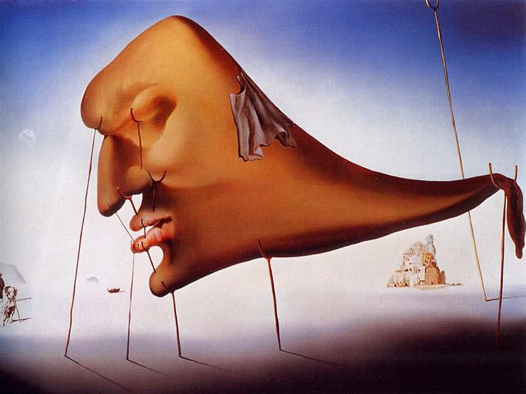 Sleep, 1937 - Salvador Dalí