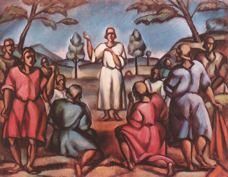 Sermon on the Mountain, 1916 - Kmetty János