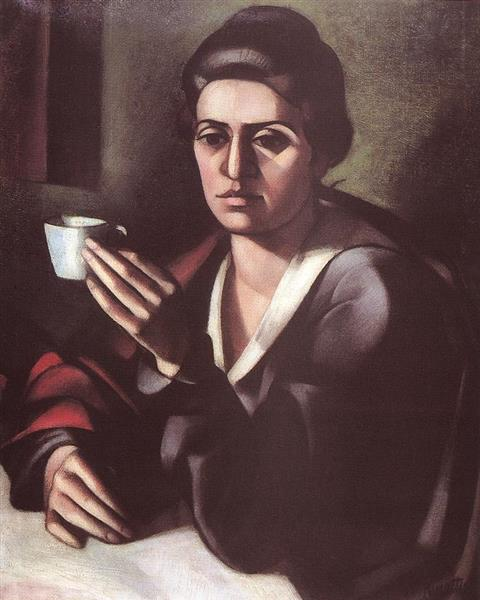 Woman with a Cup 1916, 1916 - Kmetty János