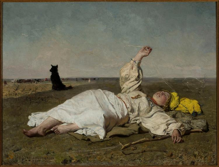 Babie Lato, 1875 - Józef Chełmoński