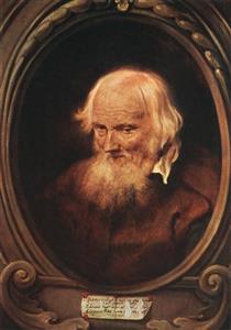 Portrait of Petrus Egidius de Morrion - Jan Lievens