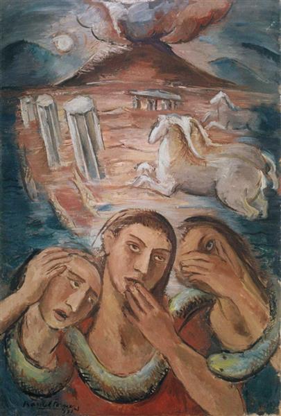 Presagio, 1931 - Raquel Forner