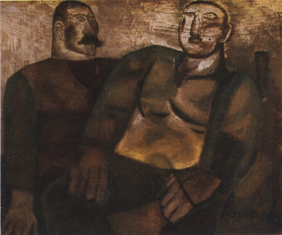 The Two Sailor Brothers, 1923 - Constant Permeke
