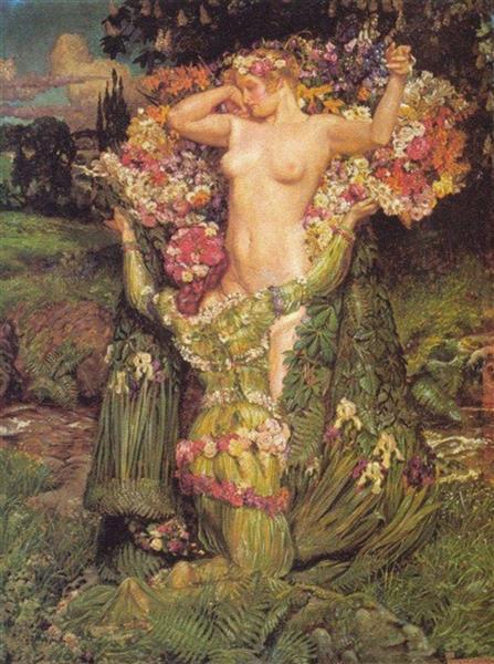Rising Spring, 1911 - Byam Shaw