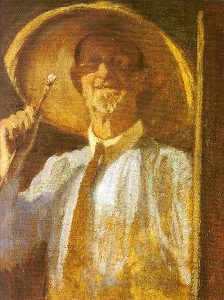 Self-portrait, 1932 - Alfredo Andersen