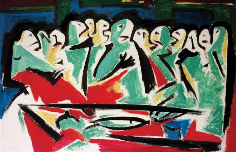 The Last Supper, 1982 - Владимир Лобода