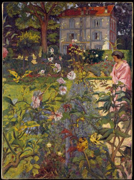 Garden at Vaucresson, c.1920 - c.1936 - Édouard Vuillard
