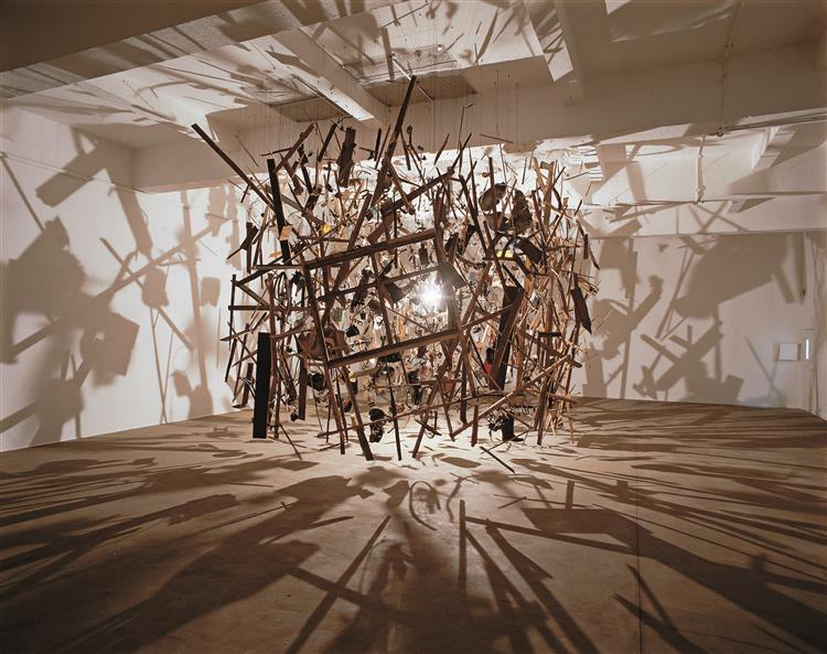 Cold Dark Matter: An Exploded View, 1991 - Cornelia Parker