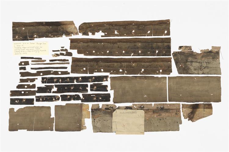 From 'Rough Sea' Circa 1840 5, JMW Turner, 1997 - Cornelia Parker