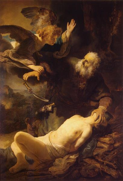 Sacrifice of Isaac, 1635 - Rembrandt