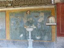 Aphrodite Anadyomene from Pompeii (detail) - Apelles