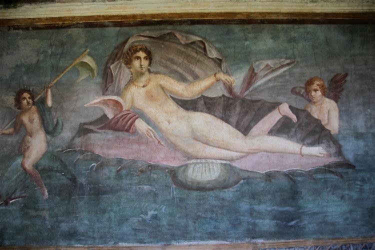 Aphrodite Anadyomene from Pompeii - 阿佩莱斯