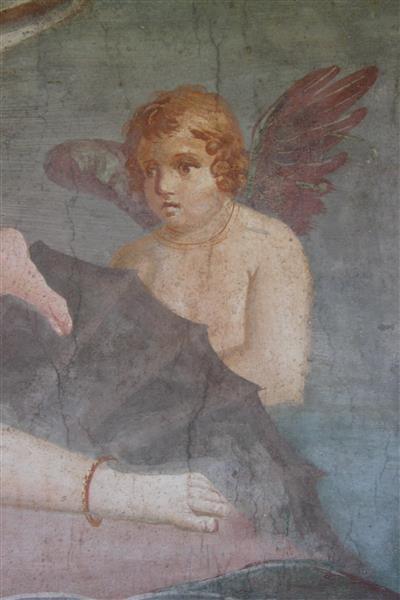 Aphrodite Anadyomene from Pompeii (detail) - Apeles