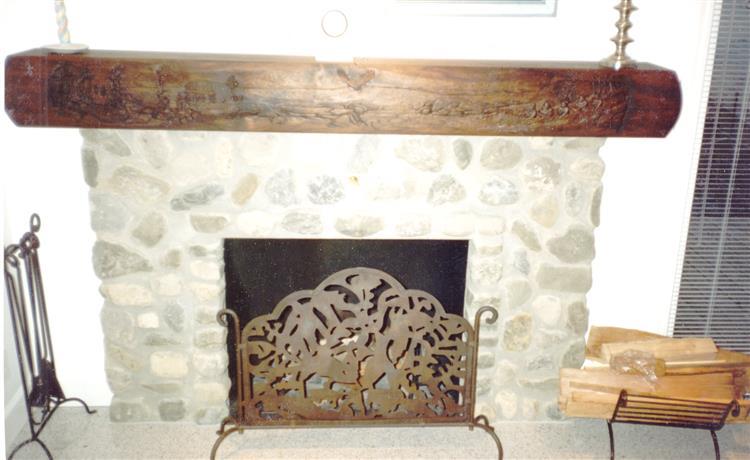 Iroquois Fireplace Mantle Full Length, 2004 - Lex Blaakman