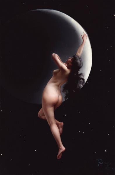 Moon Nymph - Luis Ricardo Falero