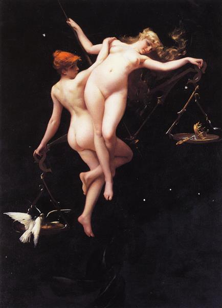 The Balance of the Zodiac - Luis Ricardo Falero