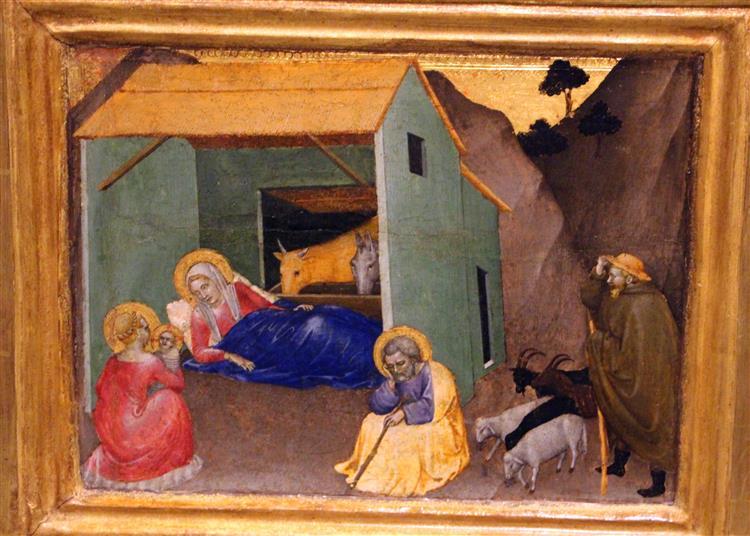 Natività, 1355 - Giovanni da Milano
