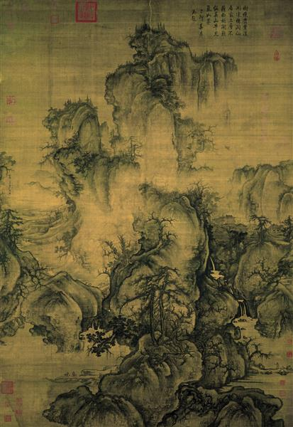 Début de printemps, 1072 - Guo Xi