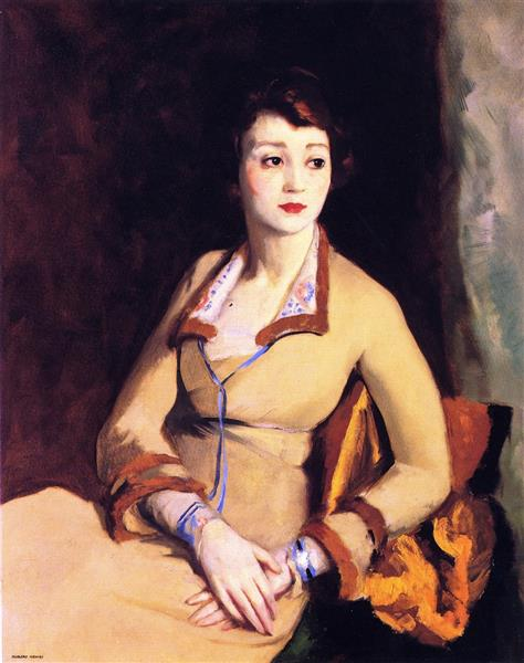 1918   Portrait of Fay Bainter, 1918 - Robert Henri