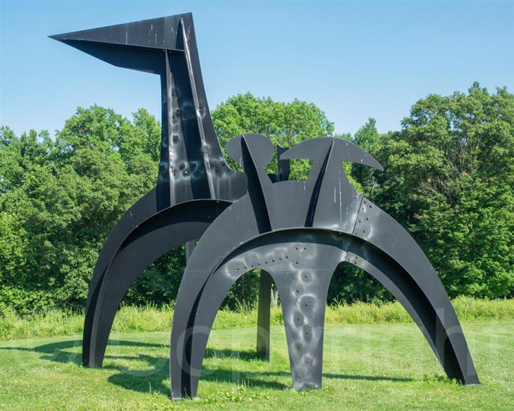 BLACK FLAG, 1974 - Alexander Calder
