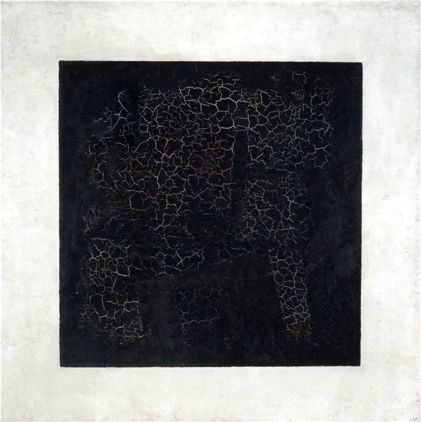 Image result for Kazimir Malevich's 1915 Black Square