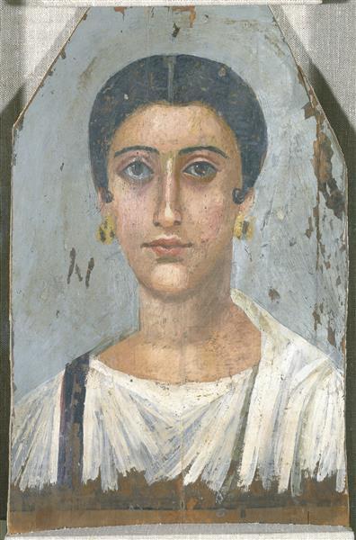 Portrait of a Noblewoman - Fayum portrait