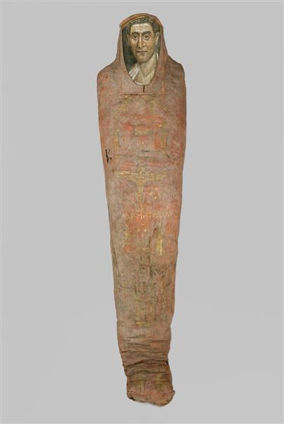 The Mummy of Demetrios - Fayum portrait