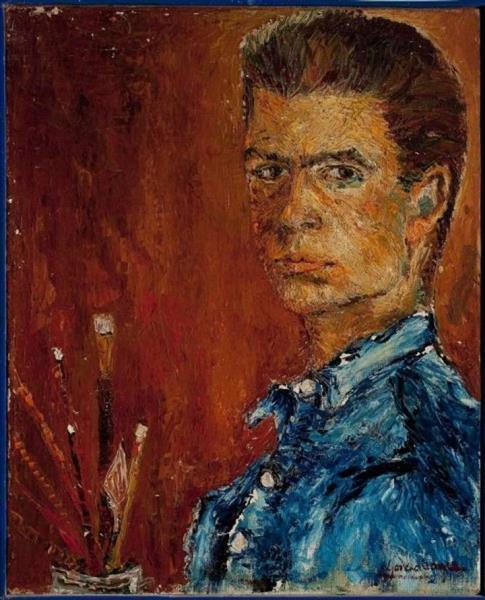 Self Portrait, 1951 - Fernando García Ponce
