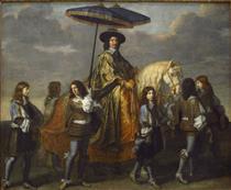 Chancellor Séguier and His Suite - Charles Le Brun