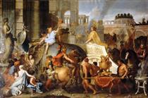 Entry of Alexander into Babylon - Charles Le Brun