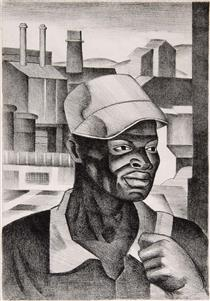 The Negro Worker - James Lesesne Wells