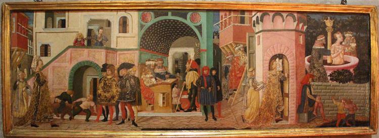 Storie di susanna, c.1450 - Lo Scheggia
