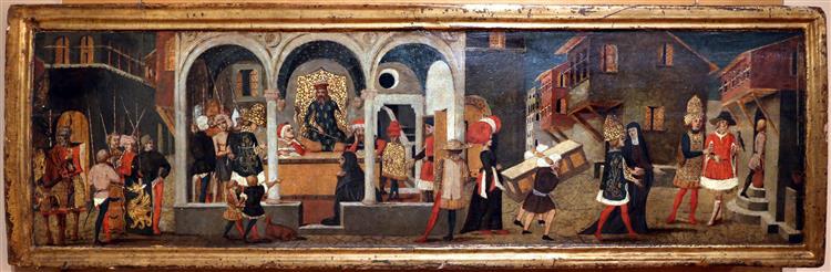 Storie di traiano e la vedova, c.1440 - Scheggia