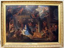 Adorazione dei pastori - Charles Le Brun