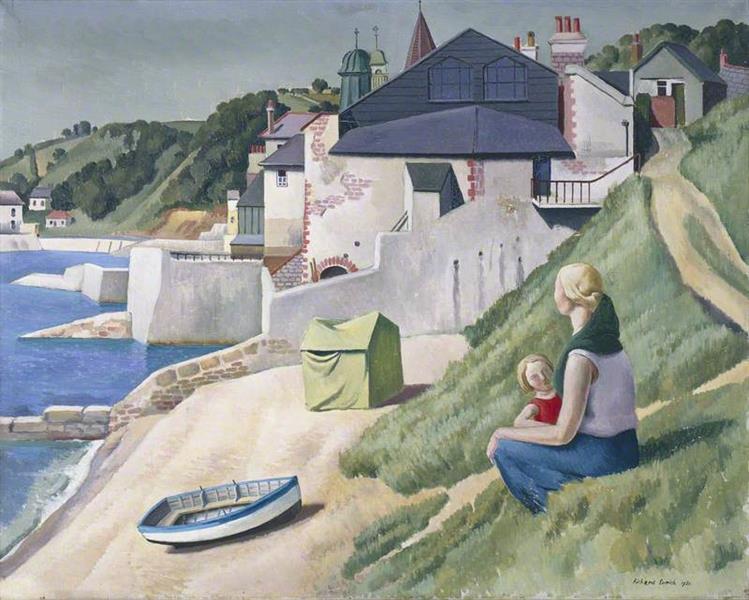 Lyme Regis, 1930 - Richard Eurich