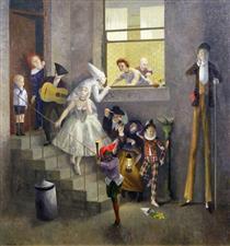 The Mummers - Richard Eurich