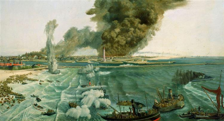 Withdrawal from Dunkirk, June 1940, 1940 - Richard Eurich