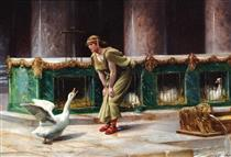 Sacred Geese of the Capitol - Henri-Paul Motte