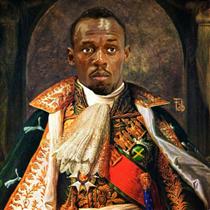 Usain Bolt - Fabrizio Birimbelli (Pupazarro)