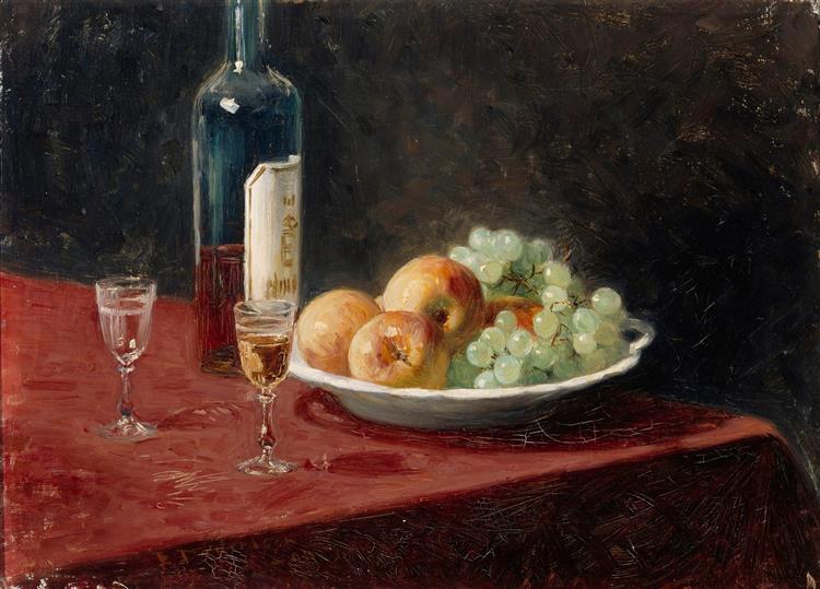 Still Life, 1890 - Elin Danielson-Gambogi