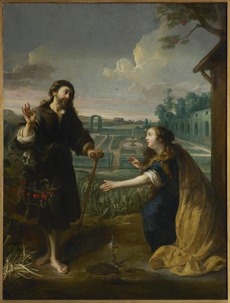 Jesus Appears to Mary Magdalene, 1641 - 1660 - Jan Cossiers