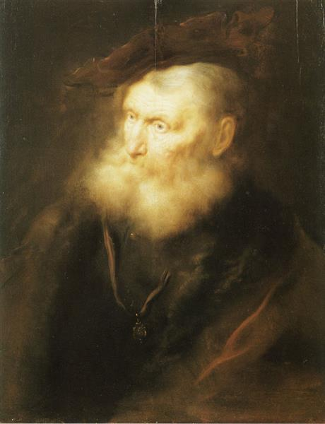 An Old Man - Salomon Koninck