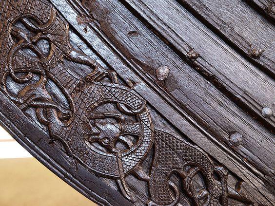 Oseberg Ship. Detail - Північне мистецтво