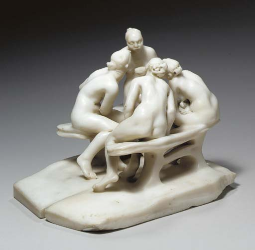 Les Causeuses Sans Paravent, 1895 - Camille Claudel
