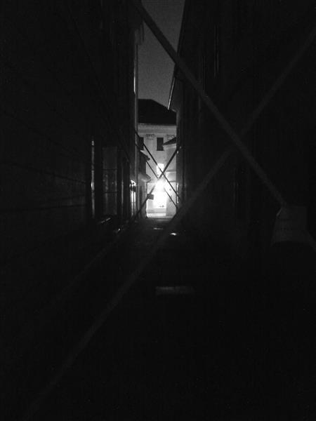 The narrow passage, 2014 - Alfred Freddy Krupa