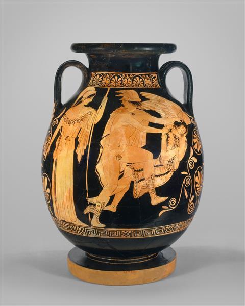 Terracotta Pelike (jar), c.440 BC - Ancient Greek Pottery