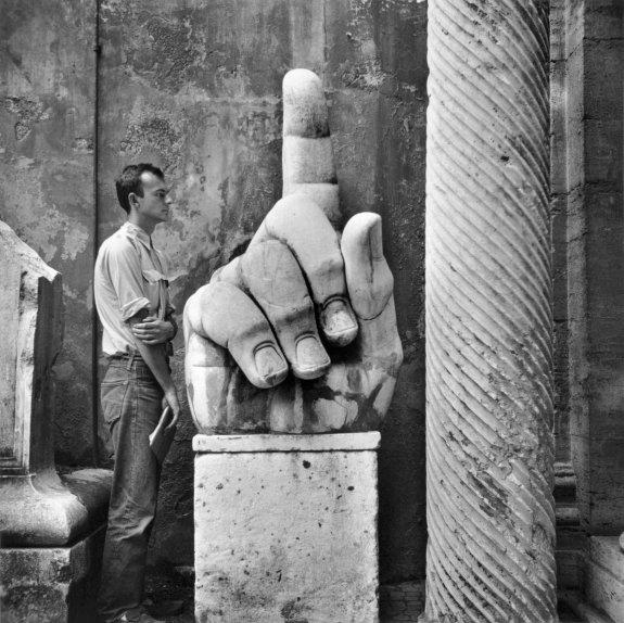 Cy + Relics, Rome - Robert Rauschenberg