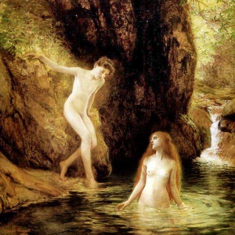 Daphnis Et Chloe - Gustave-Claude-Etienne Courtois