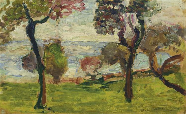 Paysage, 1898 - Henri Matisse